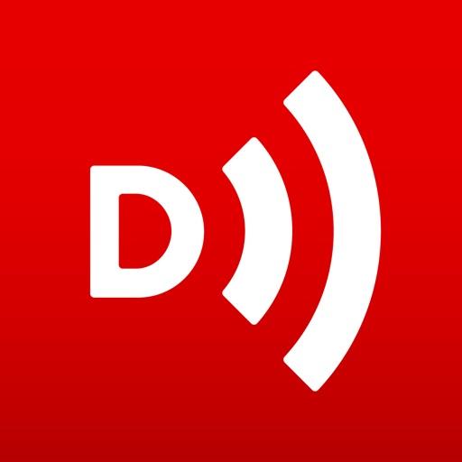 Downcast app logo