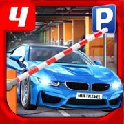 Multi Level 4 Car Parking Simulator a Real Driving Test Run Racing Games