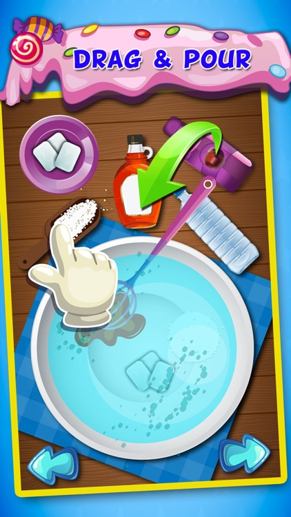 Candy Maker-free hot sweet food fun Cooking game for kids,girls & teens & family