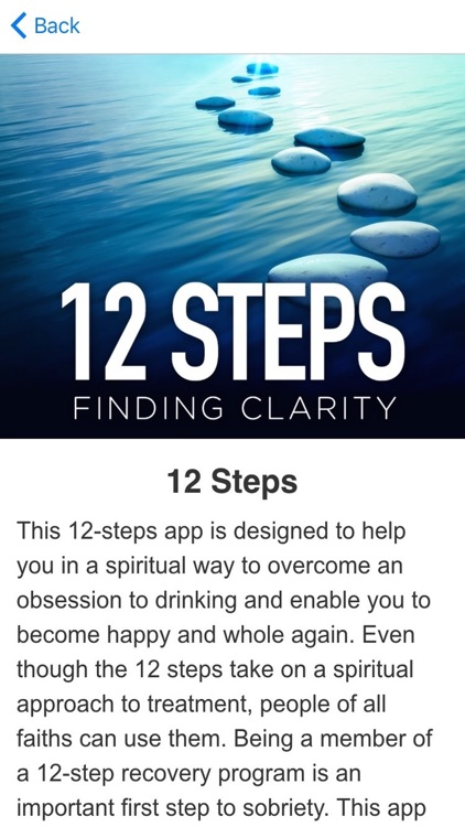 12-Step Addiction Recovery Program Through Meditations