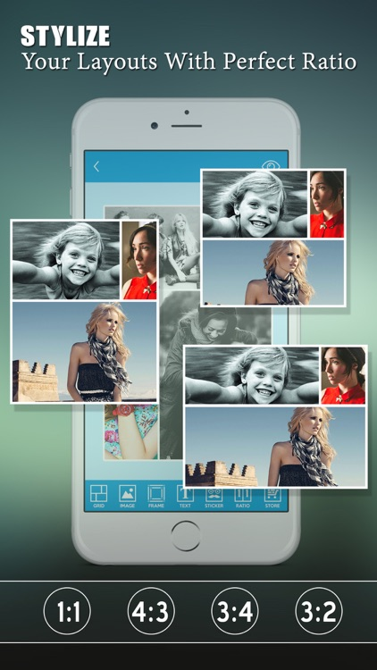 My Fancy Photo Collage Creator - Pic Frames & Photo Stitch Maker screenshot-4
