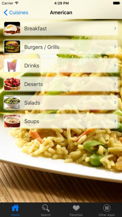 Indian Recipes review screenshots