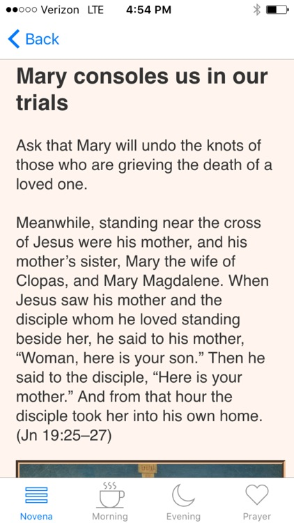 Our Lady Undoer of Knots Novena screenshot-1