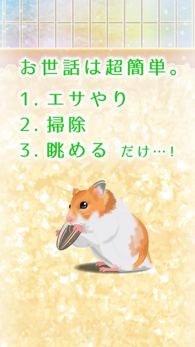 癒しのハムスター育成ゲーム