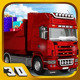 Big truck simulator: Christmas gift