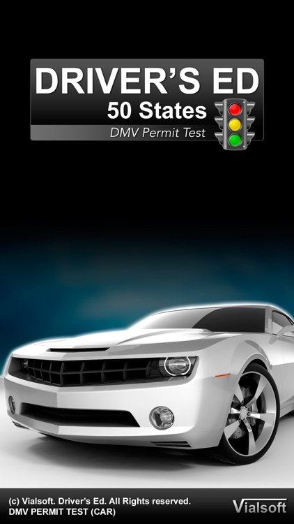 Drivers Ed: DMV Permit Practice Test. Driver's License (All 50 States)