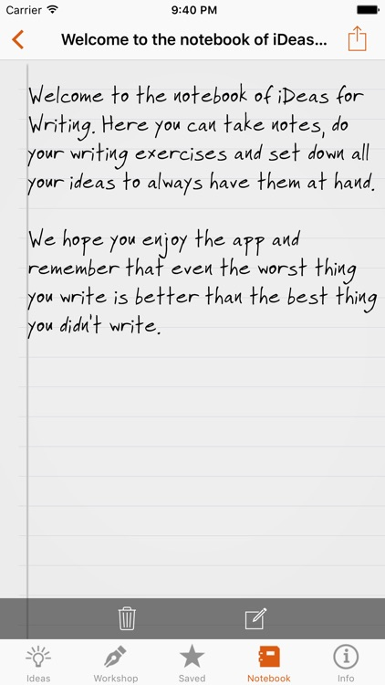 iDeas for Writing - Story Starter for your Book screenshot-4