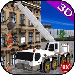 Crane: Building Destruction