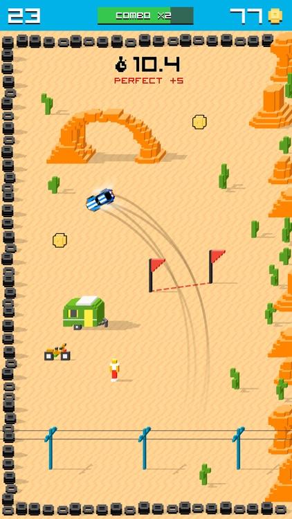 Rally Racing Drift - 8 bit Endless Arcade Challenge