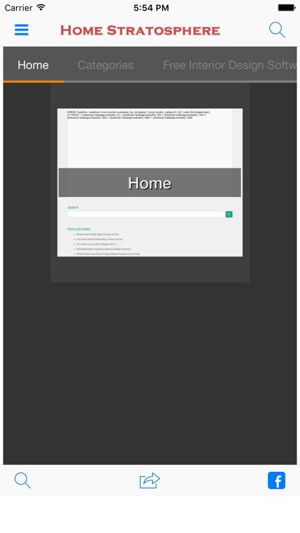 Home Stratosphere Screenshot 1