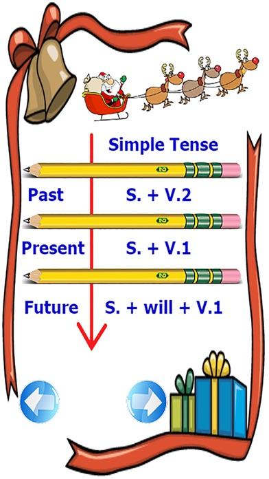 檢查語法在使用基本的英語時態練習比賽屏幕截圖2