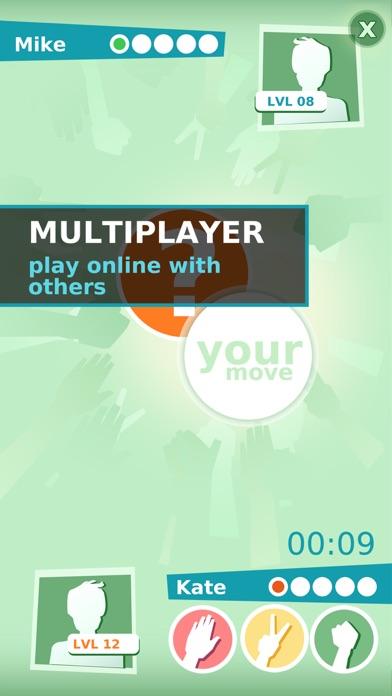Roshambo Multiplayer : Rock Paper Scissors screenshot three