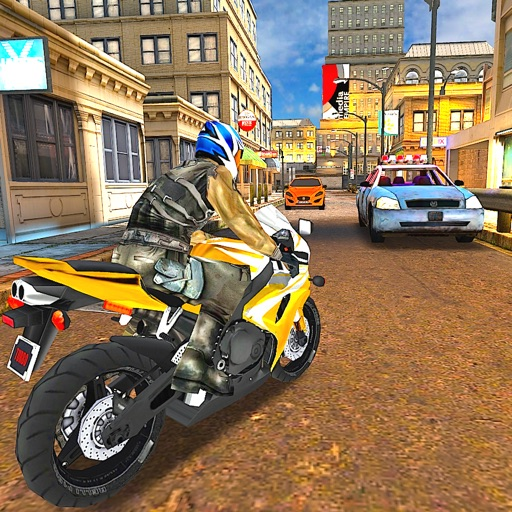 Chase The Traffic Moto