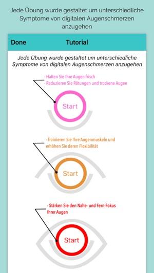 iDetox - Augenschmerzen Monitor Screenshot