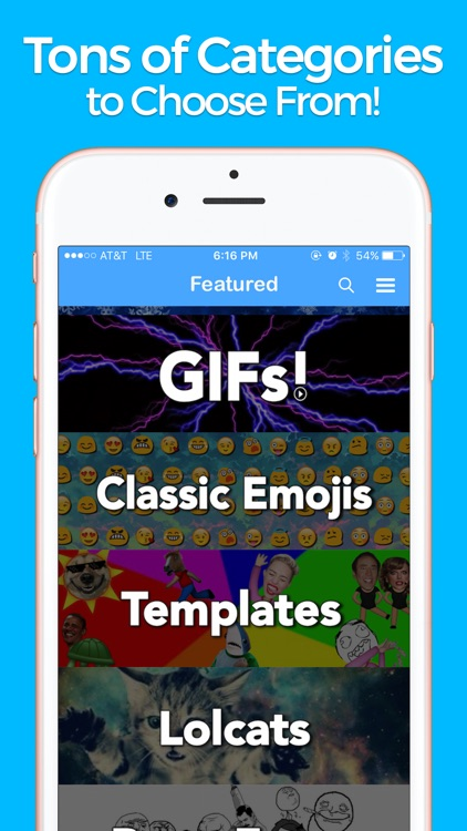 YourMoji - Custom Emojis, GIFs screenshot-1