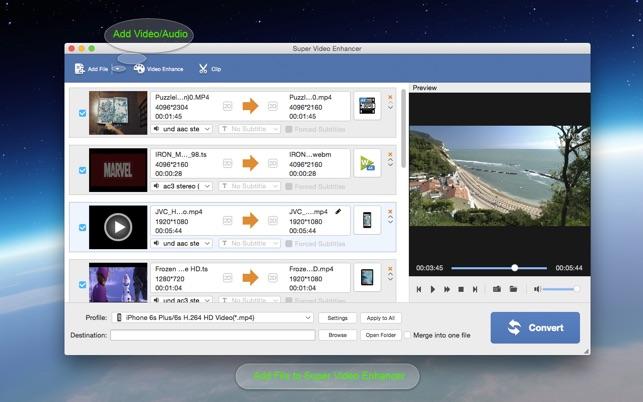 best free video enhancement software mac