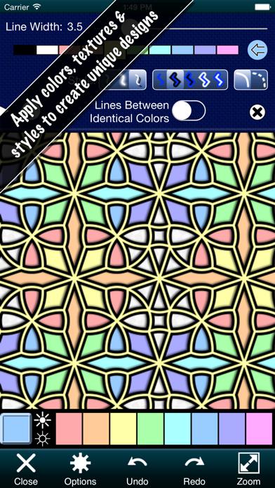 点击获取Pattern Artist Free - Easily Create Patterns, Wallpaper and Abstract Art