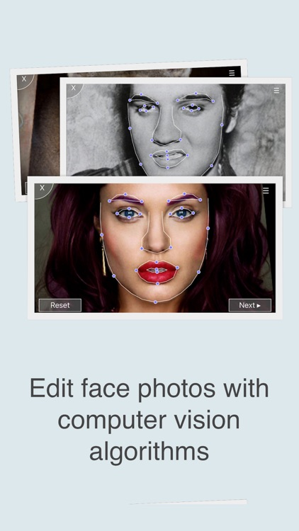 FaceFilm - Blend and Morph Face Photos for Slideshow Effects Editor with Music! screenshot-3