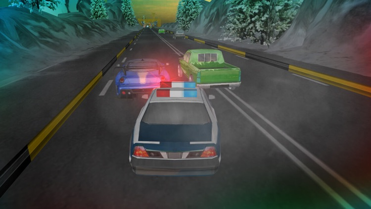 3D Crime Police Chase. Mad City in Crime Car Driving Race Siulator screenshot-4