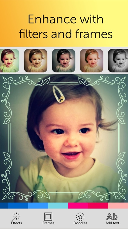 Baby Photo Editor - Pregnancy & Baby Milestone pics screenshot-2