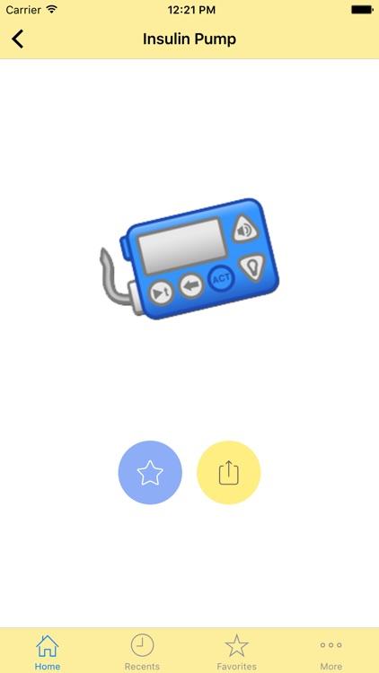 Diabetes Emoticons