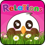 Relations : learning Education games for kids Add to child development - free!!