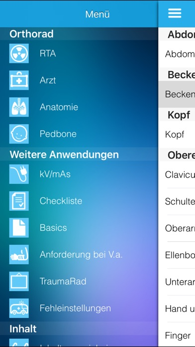 Screenshot for Orthorad in Germany App Store