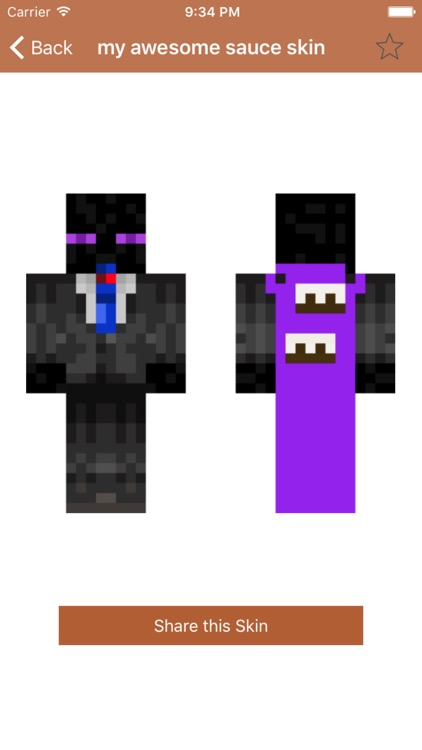 Cape Skins for Minecraft PE (Best Skins with Cape for Pocket Edition) screenshot-3
