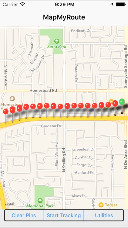 MapMyRoute screenshot-2