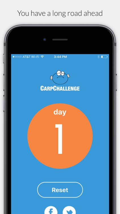 Carp - 21 Day No Complaint Challenge screenshot-1