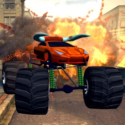3D Monster Truck City Rampage - Extreme Car Crushing Destruction & Racing Simulator PRO