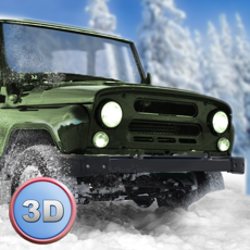 Activities of Winter Offroad UAZ Simulator 3D - Drive the Russian truck!