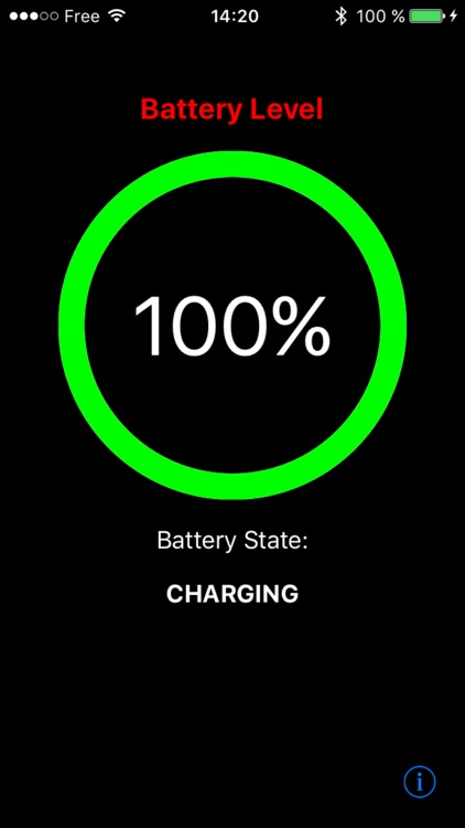 Battery Charge Notification