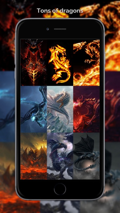 Dragon Wallpapers & Backgrounds + Amazing Fire Wallpaper Free HD-0