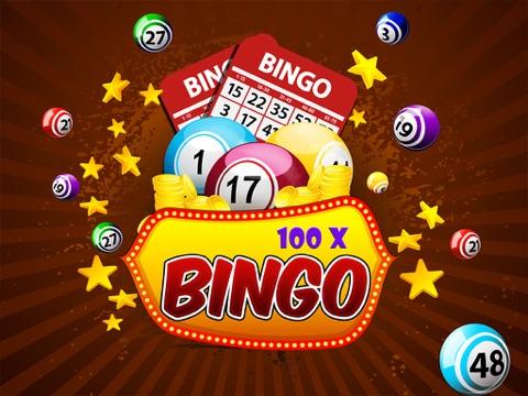 100x Bingo - Free Bingo Game-ipad-0