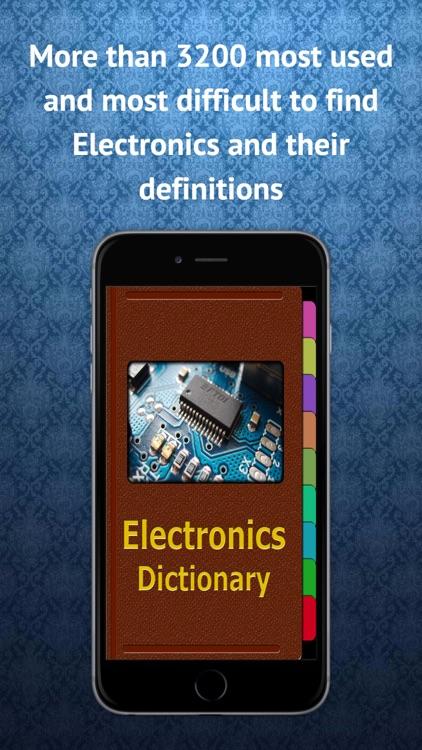 Electronics Terms Dictionary