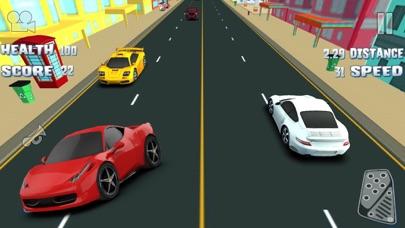3D 楽しいレースゲーム 最高の車ゲーム 無料の高速レースのおすすめ画像5
