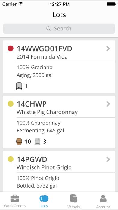 InnoVint Cellar screenshot three