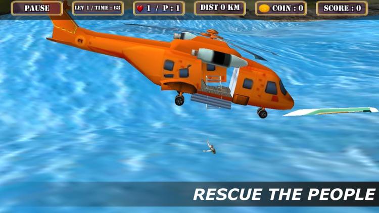 City Helicopter Rescue Simulator screenshot-3