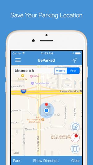 Parking Spot App >> Beparked Car Parking Spot Tracker On The App Store