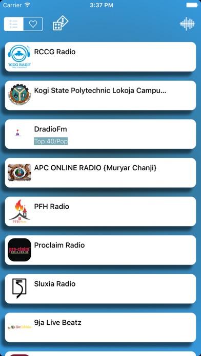 Niger Live Radio Player Free screenshot one