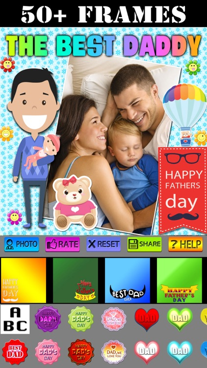 Father's Day Photo Frames HD screenshot-0