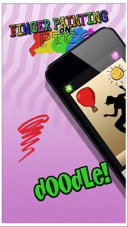 Finger Painting on Pics – Draw Creative Doodles and Add Multiple Colors in Virtual Booth