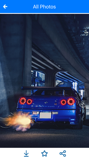 Hd Car Wallpapers Nissan Skyline Gtr Edition On The App Store