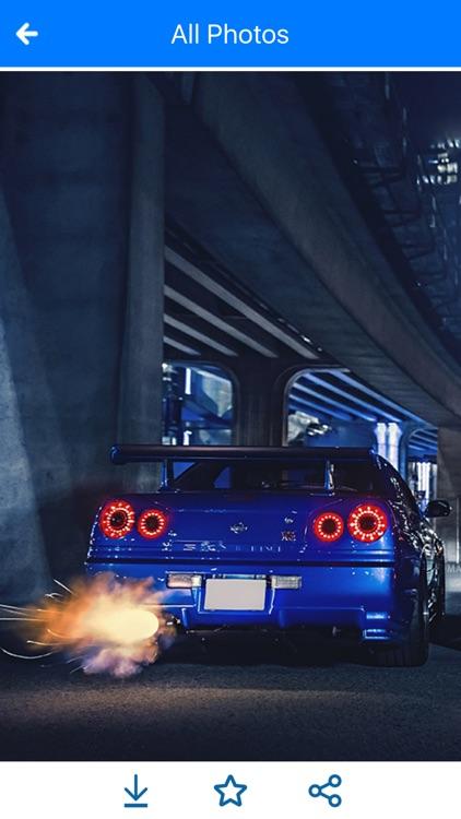 HD Car Wallpapers - Nissan Skyline & GTR Edition screenshot-3