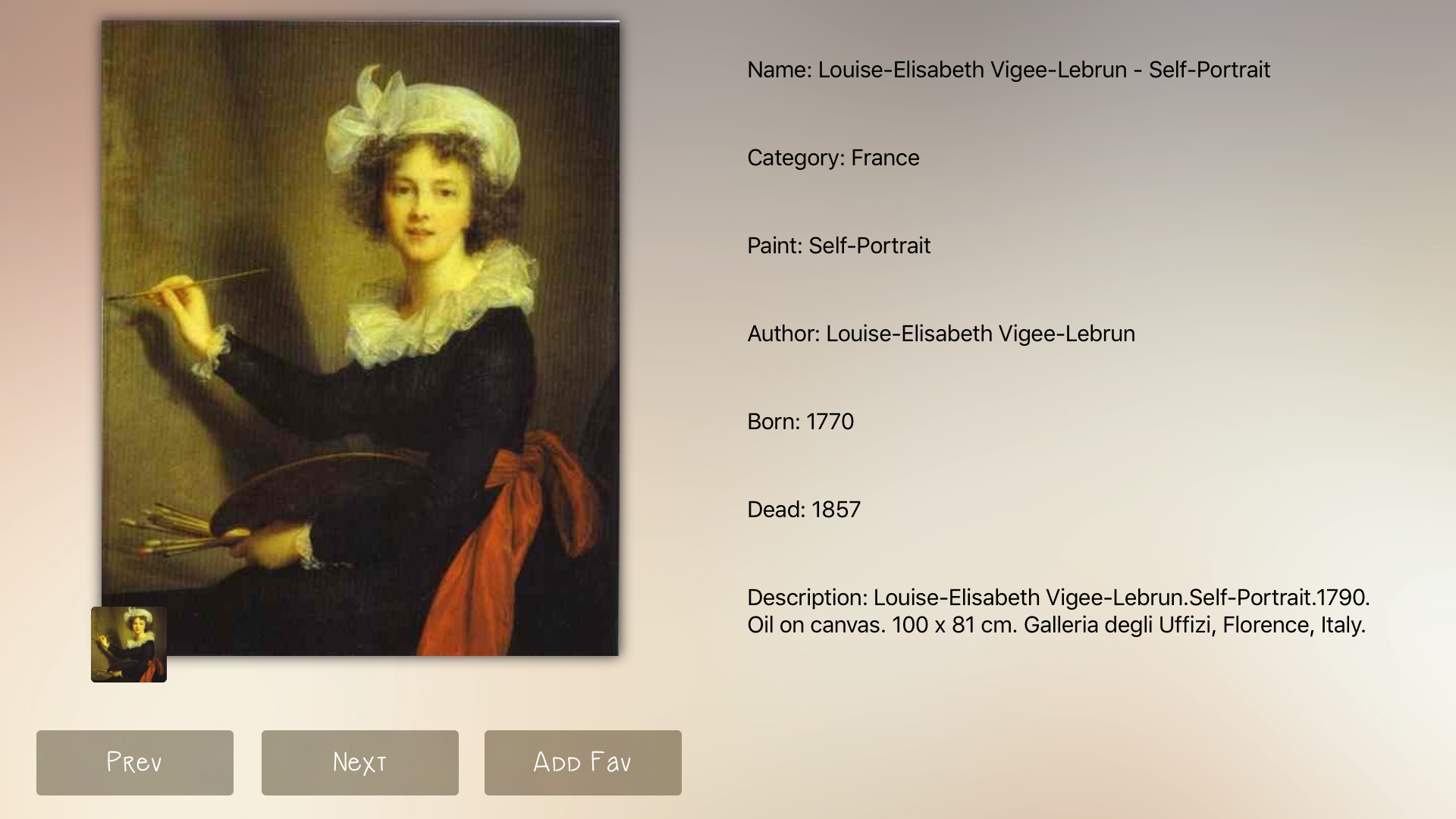 France Art Gallery screenshot 16