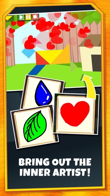Kids Learning Puzzles: Cats, Fun and Cartoon Tiles screenshot-3