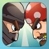 War Games: Pirates Versus Ninjas - A 2 player and Multiplayer Combat Game