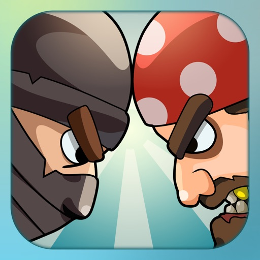 War Games: Pirates Versus Ninjas - A 2 player and Multiplayer Combat Game