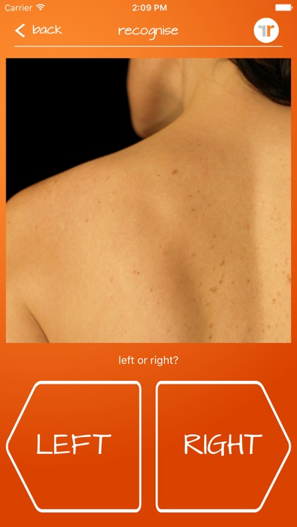 Recognise Shoulder